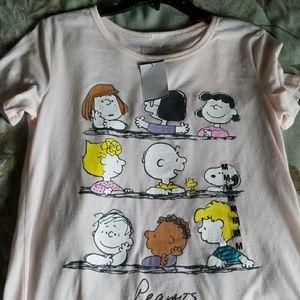 Peanuts character shirt